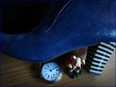 ...man muß aufpassen, daß die kleine Dinge nicht unter die Füße geraten ...,
