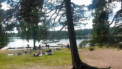 Strandbad am Langanäsasjön -- 20170719 145724
