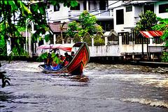 Bangkok,  Khlongs 1. ©UdoSm