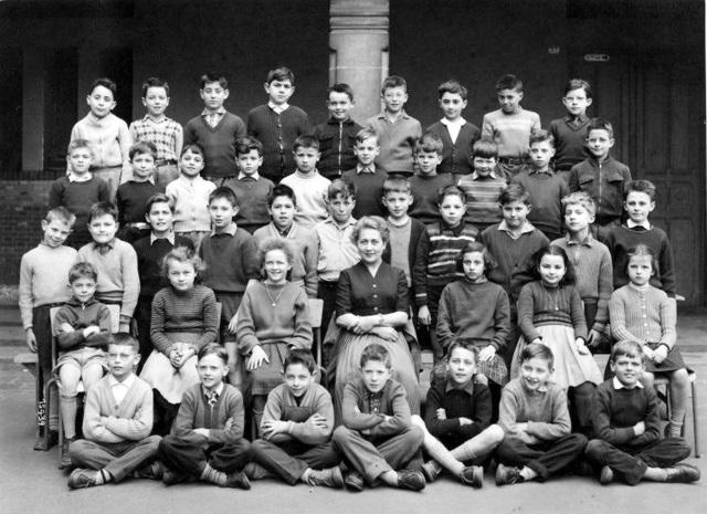 Sceaux (92) / Lycée Lakanal / 1955 / 7eme