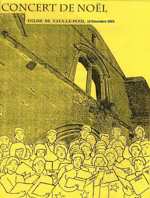 Concert à Vaux-le-Pénil le 19 décembre 2003