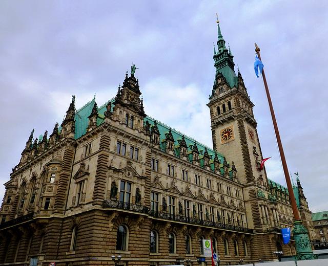 DE - Hamburg - Town Hall