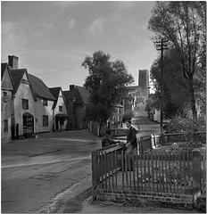 Kersey, Village in Suffolk (1951)