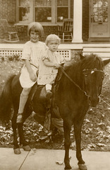 Two Kids on a Horse