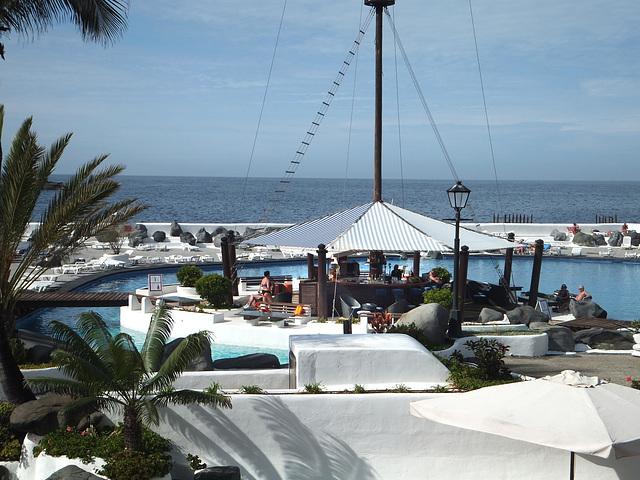 Lago Martiánez. Pool-Bar. ©UdoSm