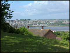 Saltash from Agaton Fort