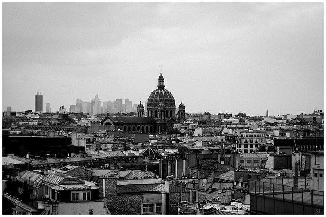 Paris grisaille
