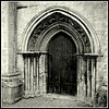 Doorway - Saint Mary the Virgin, Shipton-under-Wychwood, Oxfordshire