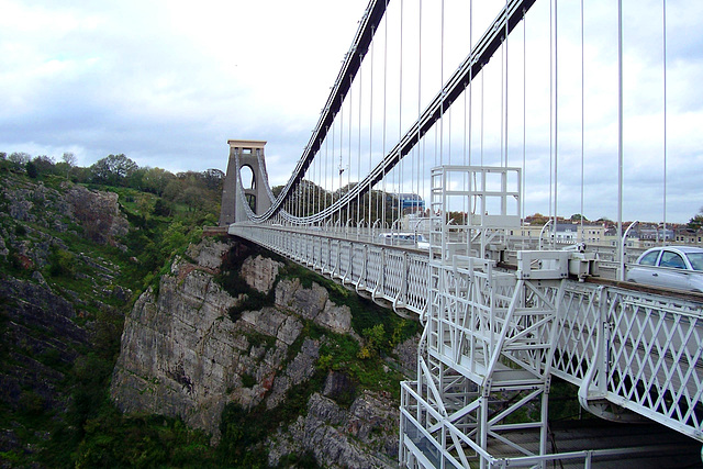 UK - Bristol - Clifton Suspension Bridge