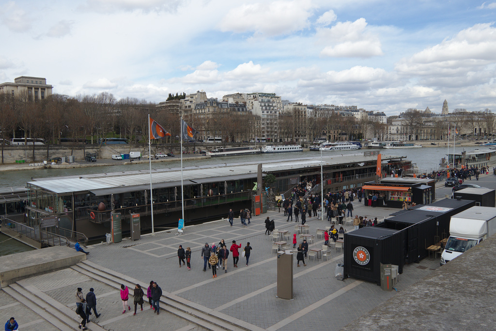 Parisian sightseeing boats
