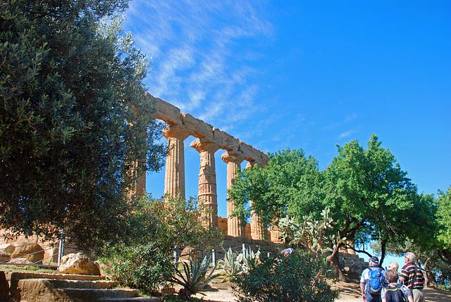 Valle dei Templi, Heratempel, Agrigento, Sizilien, Italien