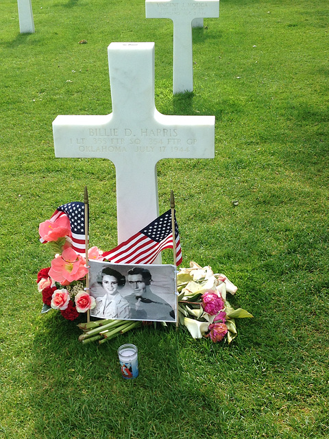 A recently added memorial. The 9,000+ graves include remains of soldiers, sailors, and airmen who died in the vicinity of Normandy from just before D-day through the end of the war.  60 percent of the