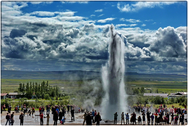 Islanda : Geysering - (860)