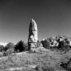 Monolithic Stone Spire