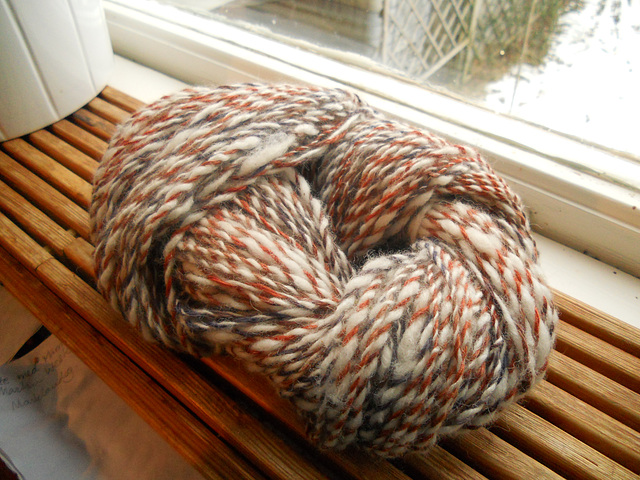 2-ply alpaca home dyed