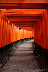 Path at Fushimi Inari-Taisha