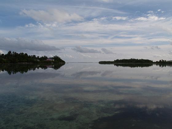Outer Lagoon of Fedu and Maradu