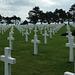 The American cemetery above Omaha Beach