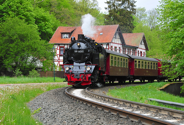 Alexisbad Harz Germany 19th May 2016