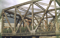 Lower Downtown Railroad (now pedestrian) bridges
