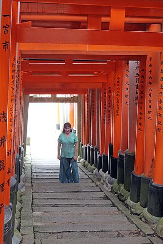 Jo at Fushimi Inari-Taisha