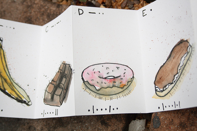"""dot dash detail """"D is for Donut"""""""