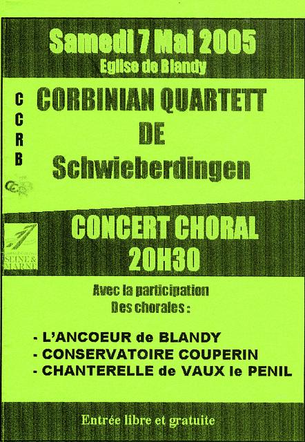 Blandy-les-Tours 07 mai 2005