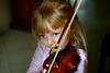 Appoline au violon