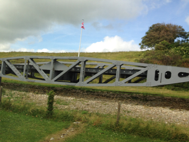 portable bridge brought in on D-day.