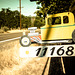 Automobile address sign /