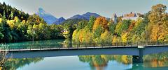 Am Lech. Herbst in Füssen.  ©UdoSm