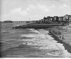 Brighton (looking west) from  new (Palace) Pier c1899 300dpi