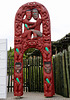 T0A1407 Maori  wood sculpture