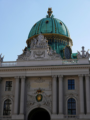 Wien, Michaeler-Kuppel  / Vienna, Michael's Dome