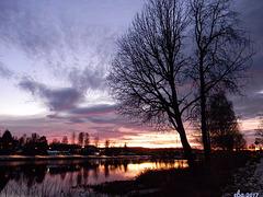Beautiful Sunset in November.