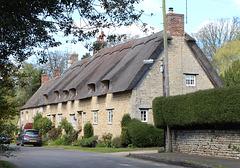 Cottages on Pudding Bag Lane, Exton, Rutland