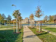 Ludwigslust,  der neue Blick zum Schloss