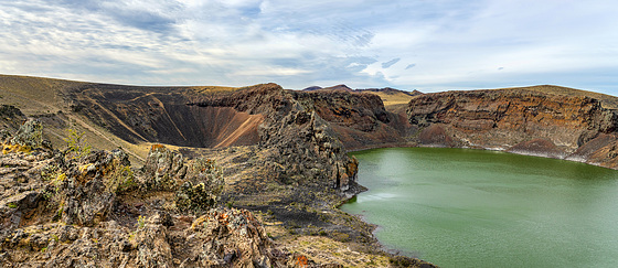 craters and lakes