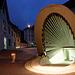Eingang zum Pfalzkeller/Santiago Calatrava (© Buelipix)