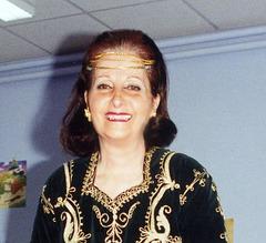 Carnaval à l'Ecole maternelle en 1995 à  quelques mois de ma retraite