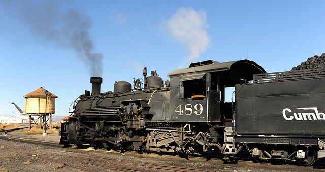 Engine 489, Cumbres and Toltec Railroad