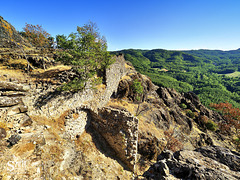 Ruderi del Castello di Gusaliggio - Val Mozzola
