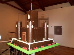 Pastry castle.