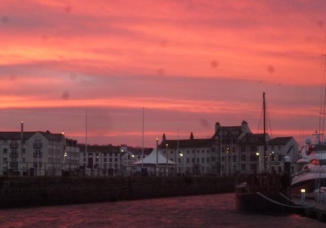 MFL - dawn in Whitehaven