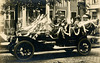 Decorated Car for the Floral-Flag Automobile Parade, Washington, D.C., July 5, 1909