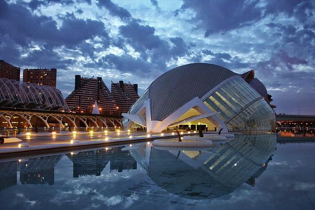 Valencia :  l'arte di Santiago Calatrava