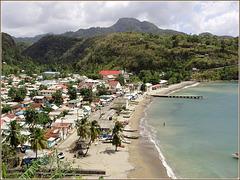 St.Lucia : Canaries, un paese di pescatori accogliente