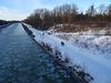 Eis und Schnee am Mittellandkanal