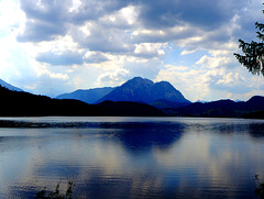 Gewitterstimmung am Altausseer See / Thundery atmosphere at Lake Altaussee