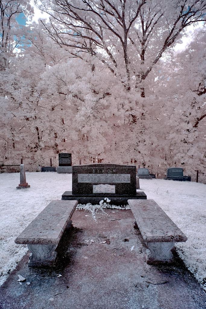 Charles Byron's grave